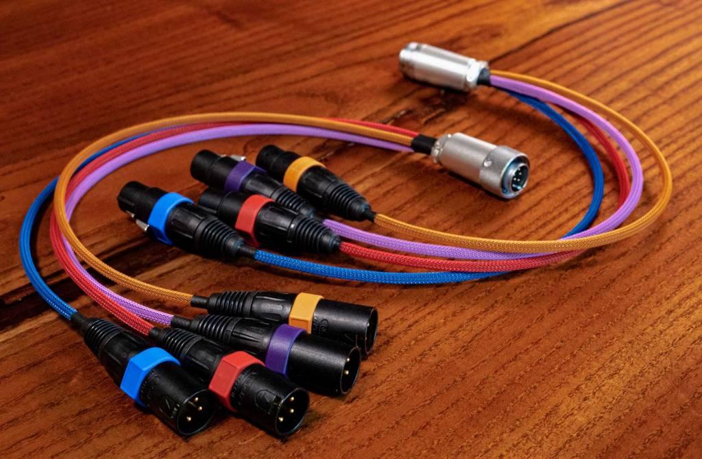 cat6 hirose xlr breakout cable